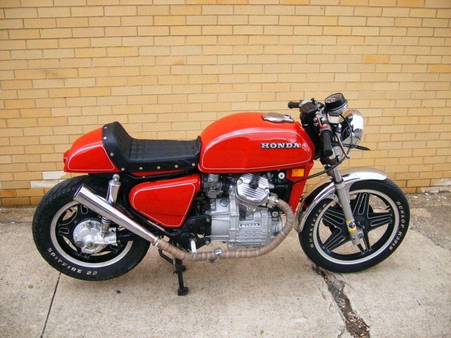cool budget red vintage cx500 honda cafe racer motorcycle | honda