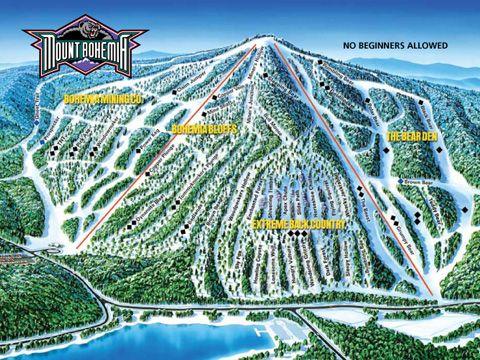 Worksheet. Mt Bohemia Trail Map  Mount Bohemia a ski resort near Lac La