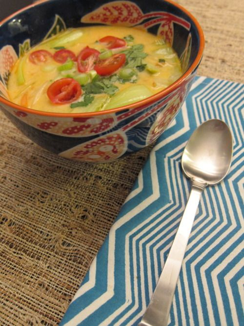 coconut curry soup !