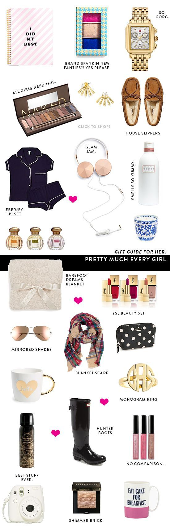 Christmas Gifts 2017 For Her Part - 34: Christmas 2017 · Gift Guide For Her: Pretty Much EVERY Girl