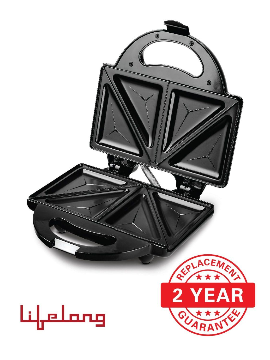 Lifelong 116 Triangle Plate Toast Sandwich Maker Review ...