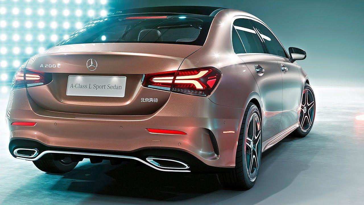 Mercedes A Class Sedan 2019 World Premiere Mercedes A Class