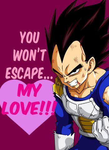 Dbz Vegeta Valentine Dragon Ball Z Pinterest Dragon Ball