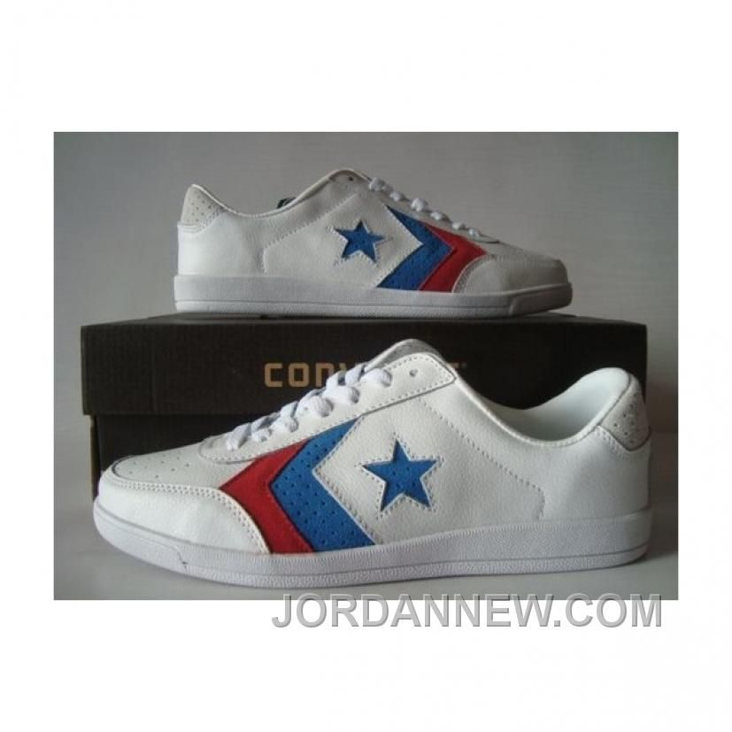 Converse Pro Star Fastbreak Ox White Blue Shoes For Sale cf8d8e902