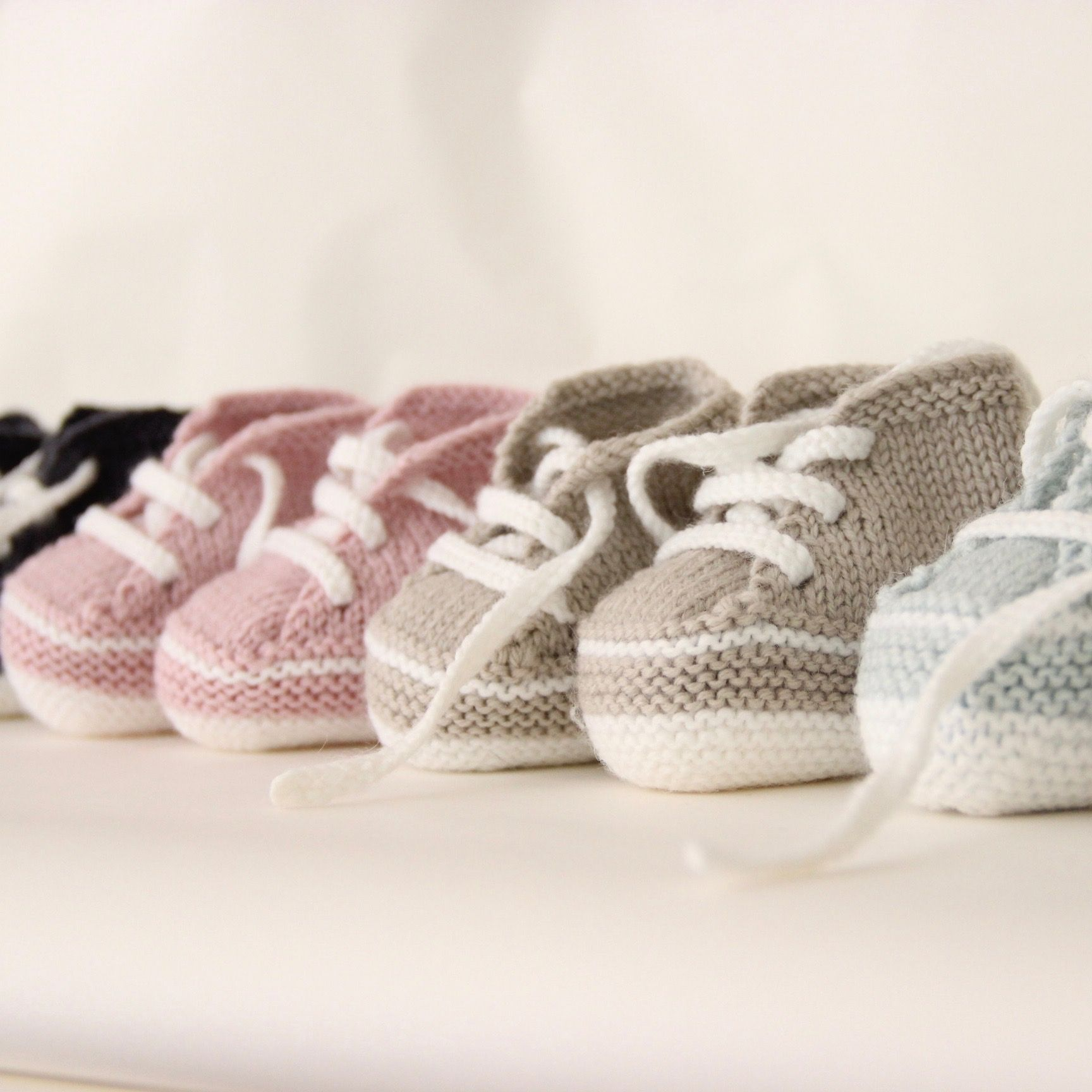 37 / My first sneakers pattern by Florence Merlin   Zapatitos para ...