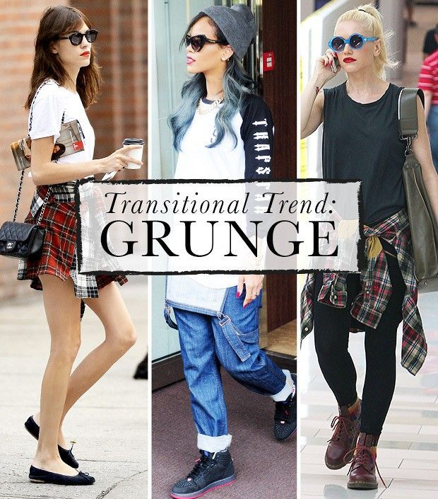 106cdc048f How To Wear Fall s Grunge Look Right Now