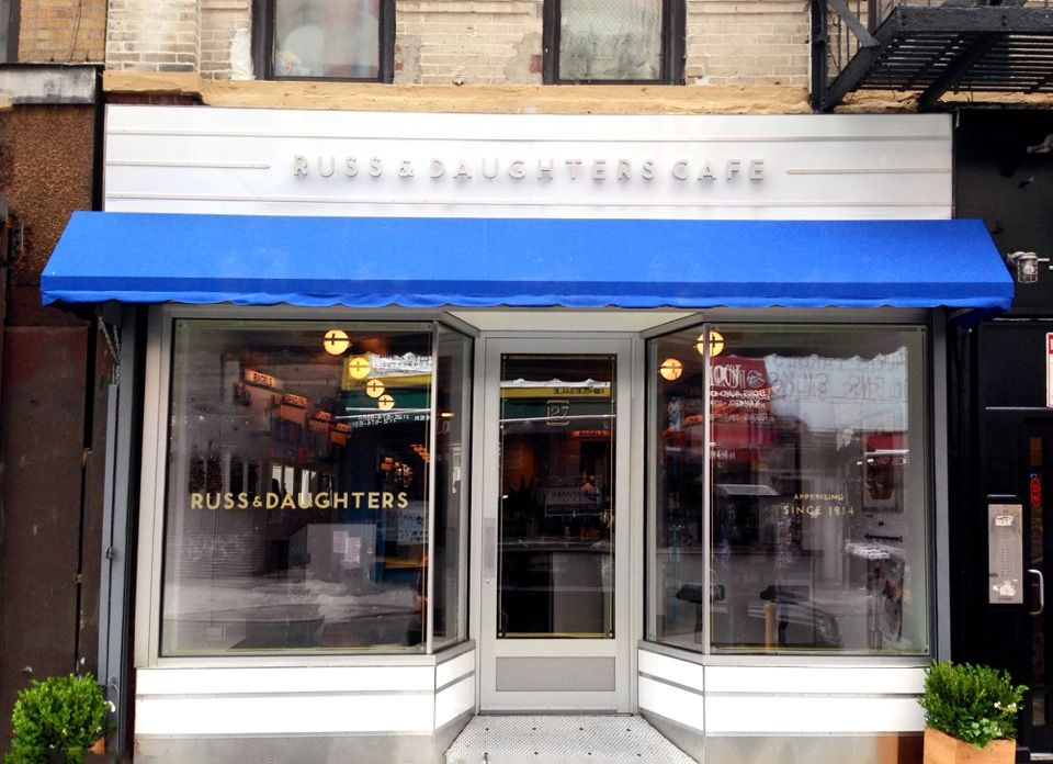Russ & Daughters Cafe in New York, NY. 127 Orchard Street
