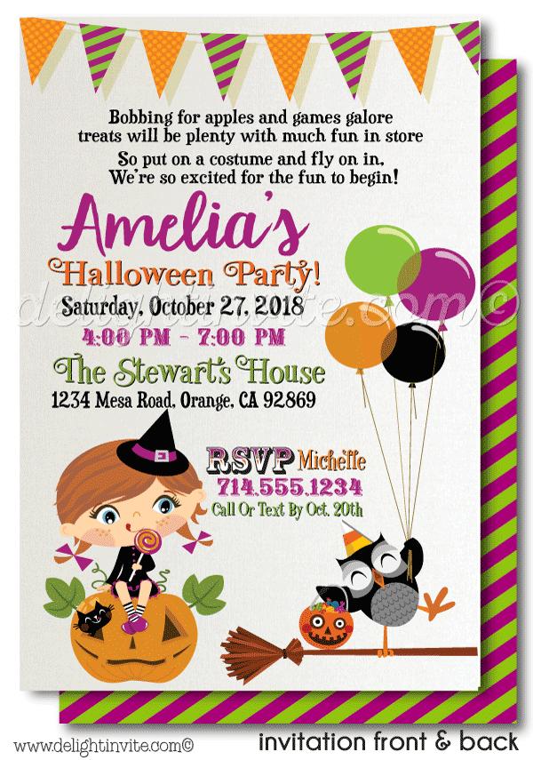 Kids Halloween Costume Party Invitation Printable Click Image Halloween Birthday Party Invitations Birthday Invitations Kids Kids Halloween Party Invitations