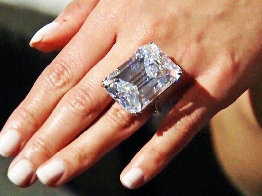 Remember That Perfect 100 Carat Diamond Yesterday It