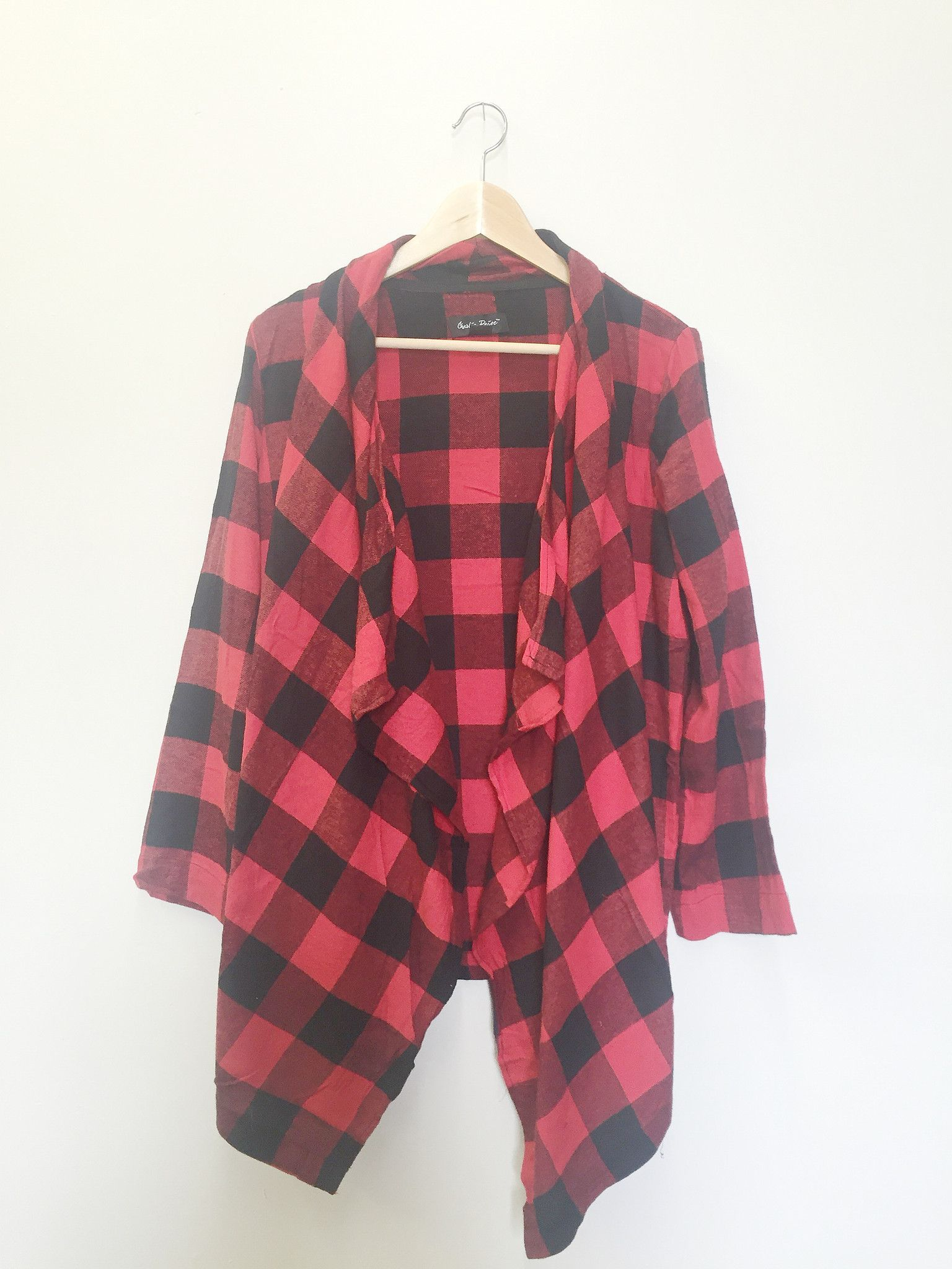 Not Your Boyfriend's Flannel - Red