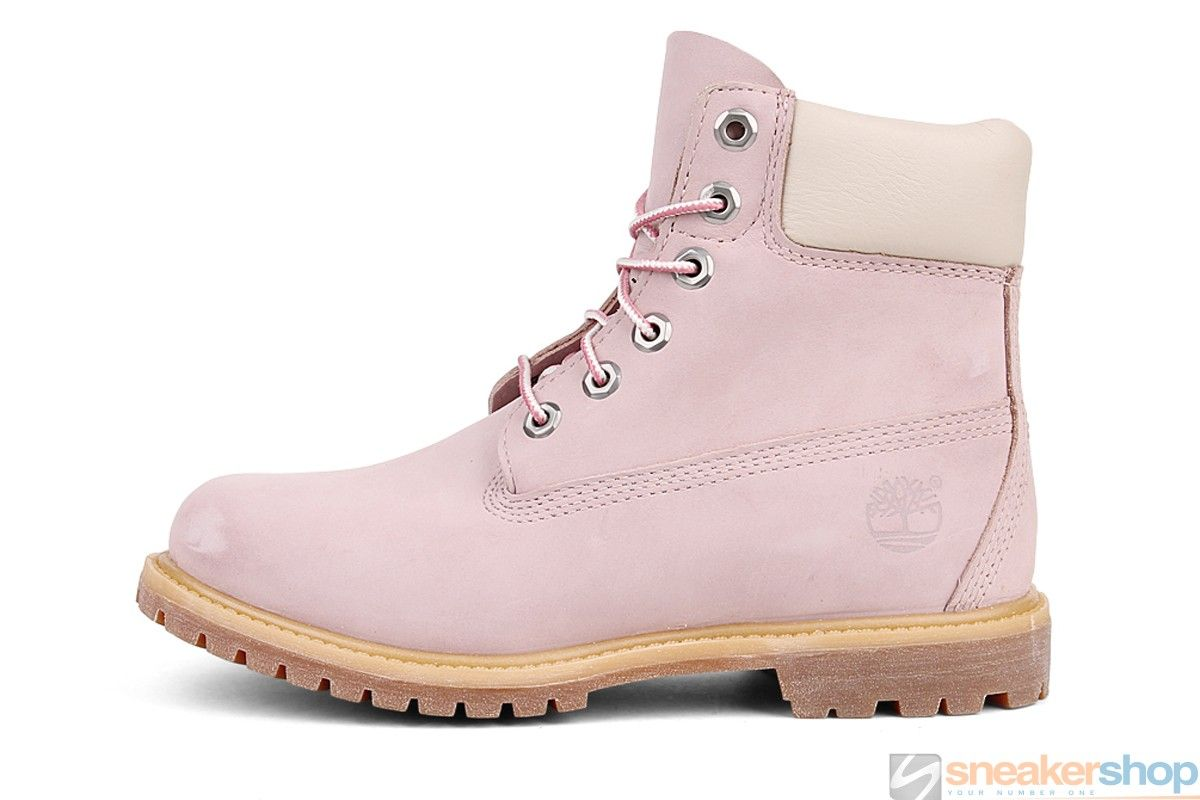 Timberland AF EK 6 Inch Premium Women Pink Boots Discount