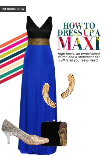 Check out this gorgeous look created by me on the LimeRoad Scrapbook.