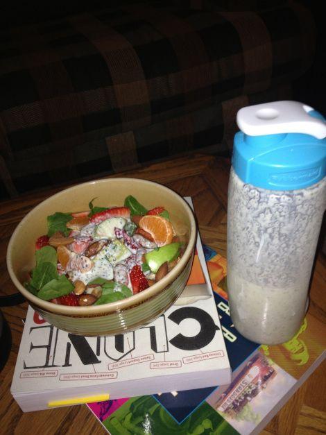 Chia Seed Cucumber Dill Greek Yogurt Salad Dressing