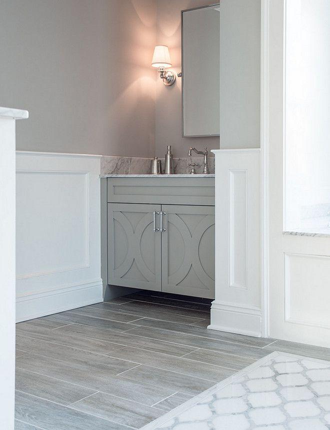 Benjamin Moore San Antonio Gray Paint Color Is Benjamin Moore San Antonio Gray At 75 Benjaminmoo Wood Tile Bathroom Master Bedroom Bathroom Bathroom Design