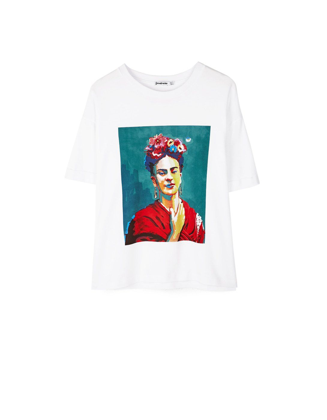 MarškinėliaiStradivarius Bats Shirt Printed T Lithuania TKlcuF1J3