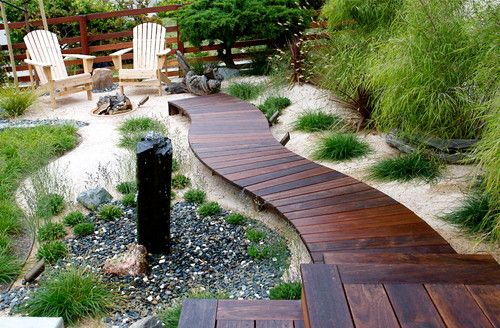 Image result for wooden pathway