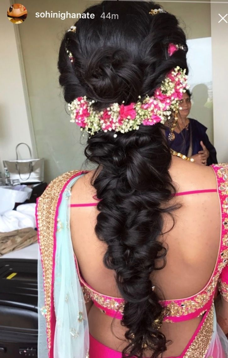 pin by latha thunga on hair do | hair styles, bridal hairdo