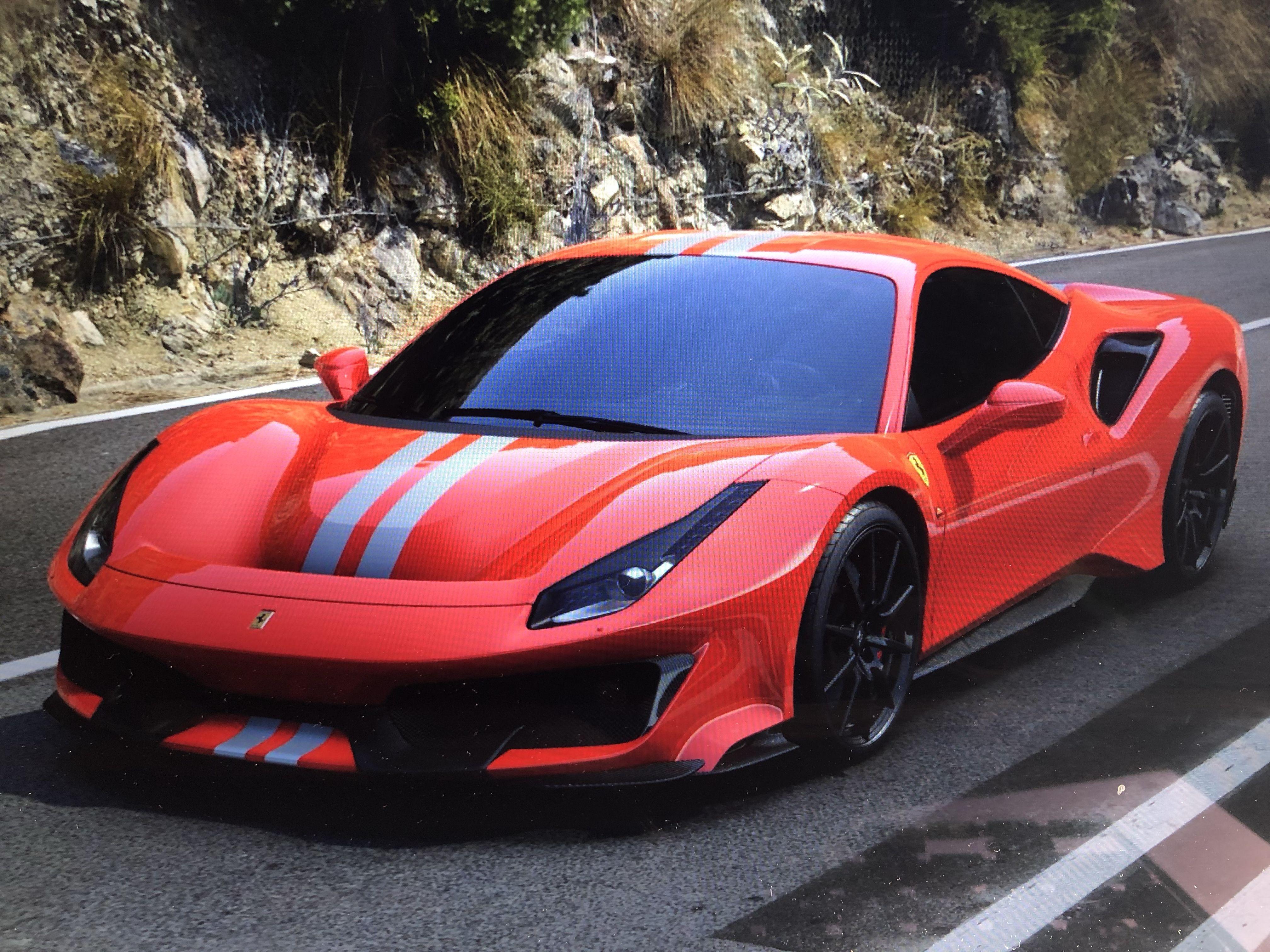 488 Pista Super Cars Cars Dream Cars