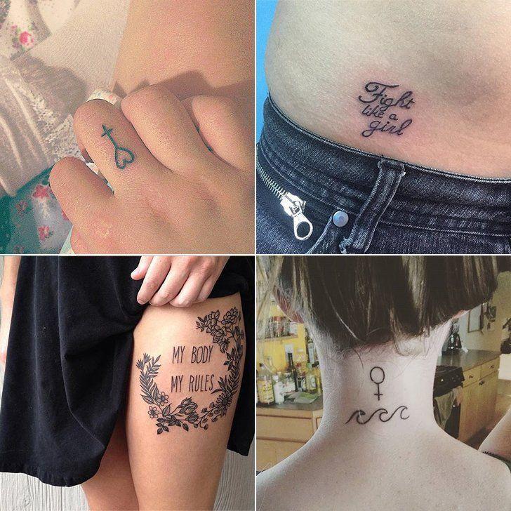 31 Ink Ideas That Empower Women Feminist Tattoo Tattoos