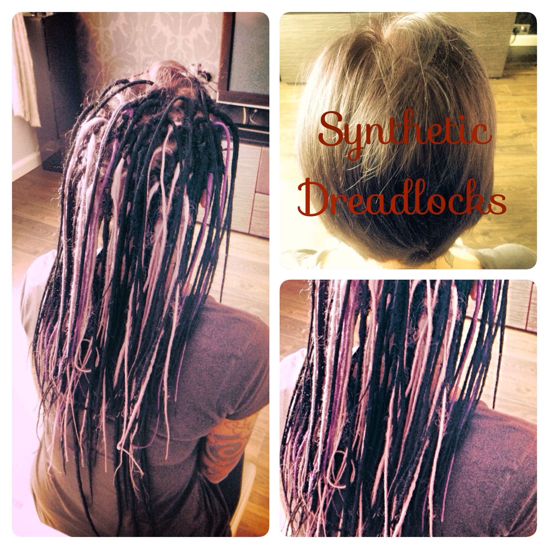 Synthetic dreads installed today dreadhead dreadlocks synthetic