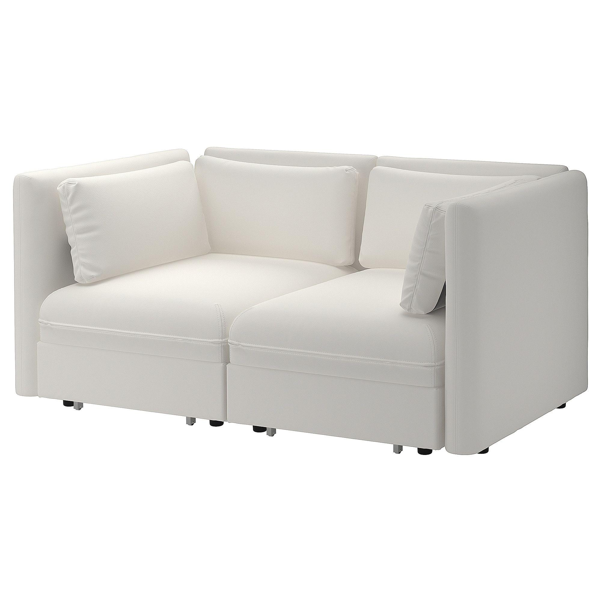 Vallentuna Mod Sofa 2 Seat W 2 Slpr Sections White Find It Here