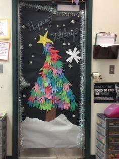 48 Unique Christmas Door Decorating Contest 44 #christmasdoordecorationsforwork