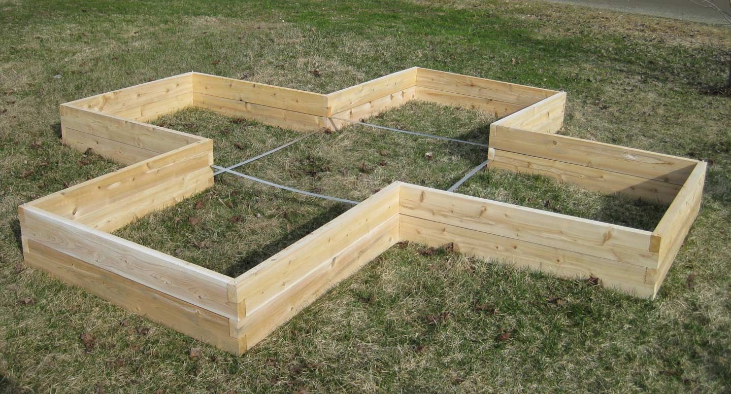 Raised Bed Garden Layouts Bed Gardening Plans Raised Bed