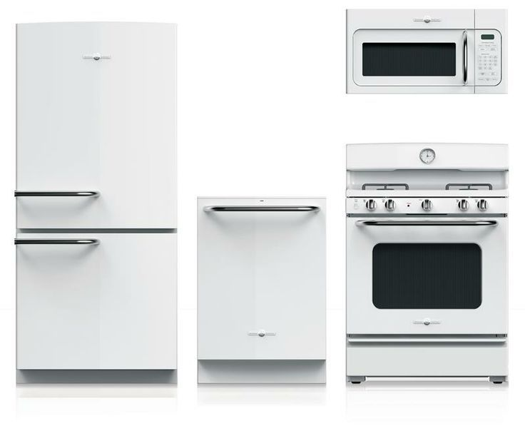 White Appliances on a Comeback | White appliances, Kitchens and Cabin
