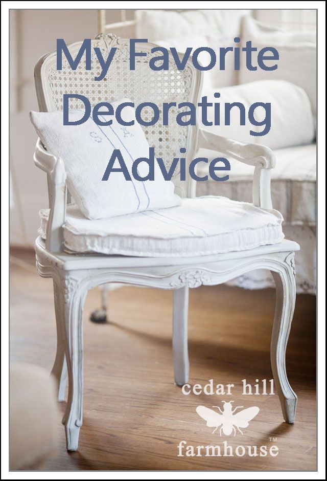 My Favorite Decorating Tip   DIY Home Decor Ideas   Pinterest     DIY FAVORITE DECORATING TIPS AND TRICKS FROM CEDAR HILL FARMHOUSE  SO  FABULOUS