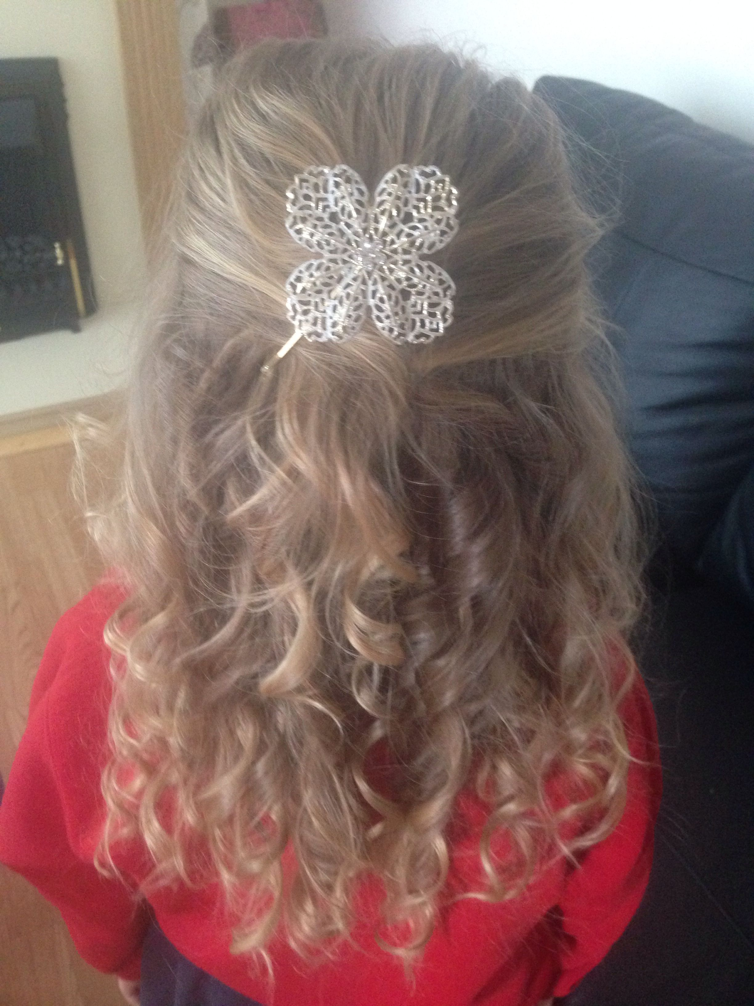 Gorgeous curls for little girls!