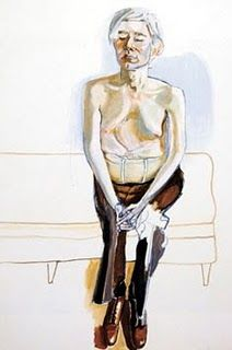 Andy Warhol by Alice Neel