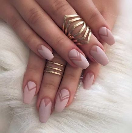 trendy nails matte neutral simple ideas  neutral nail