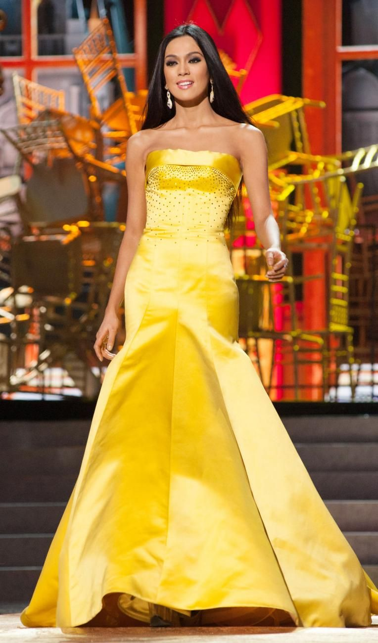 Yellow Evening Gowns | Yellow Pageant Dresses | Pageant Gowns ...