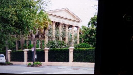 Old county library.  Now the home of the TV show character Whitney from Southern Charm.