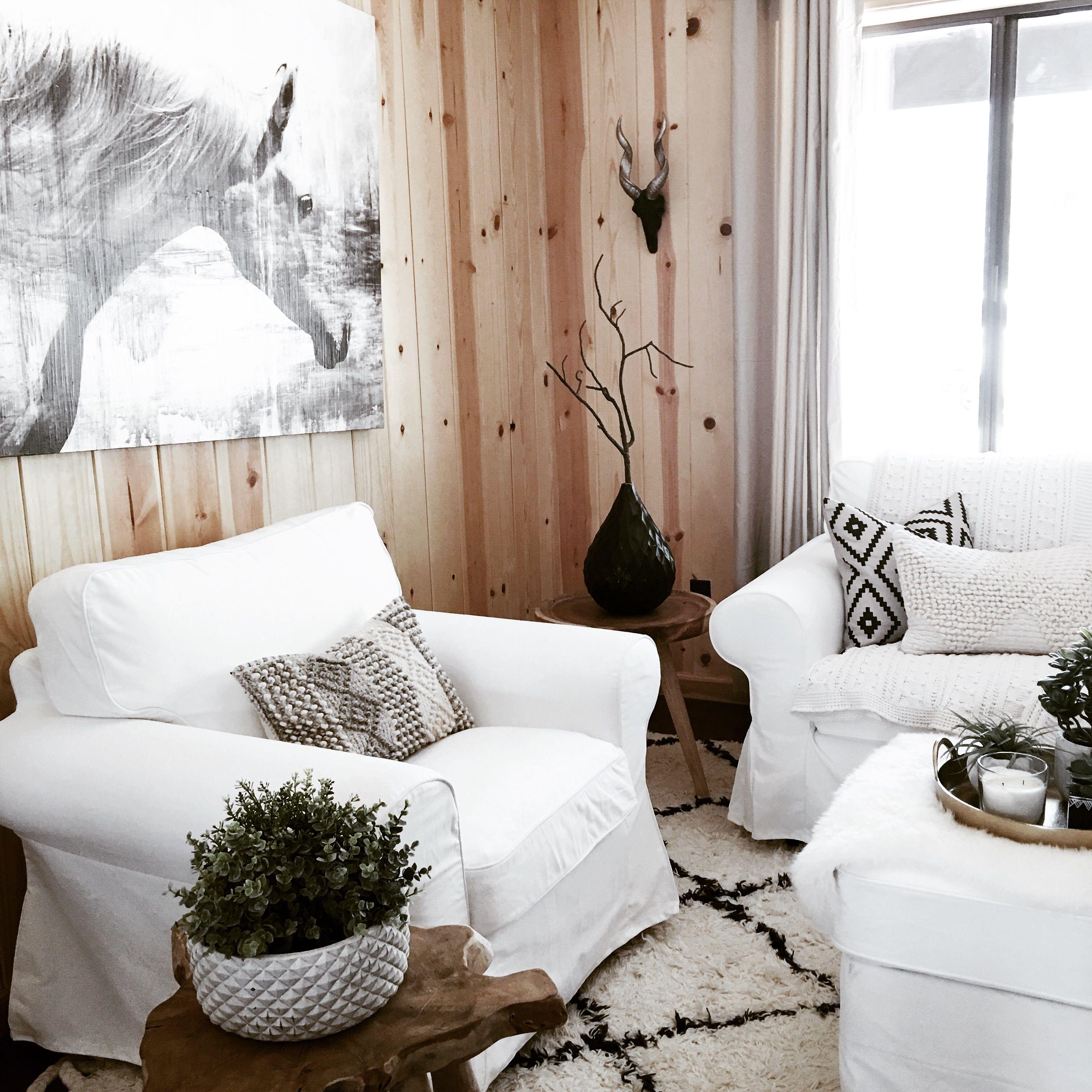 Neutral Boho Living Room | Cabin Interiors | Pinterest | Cabin ...