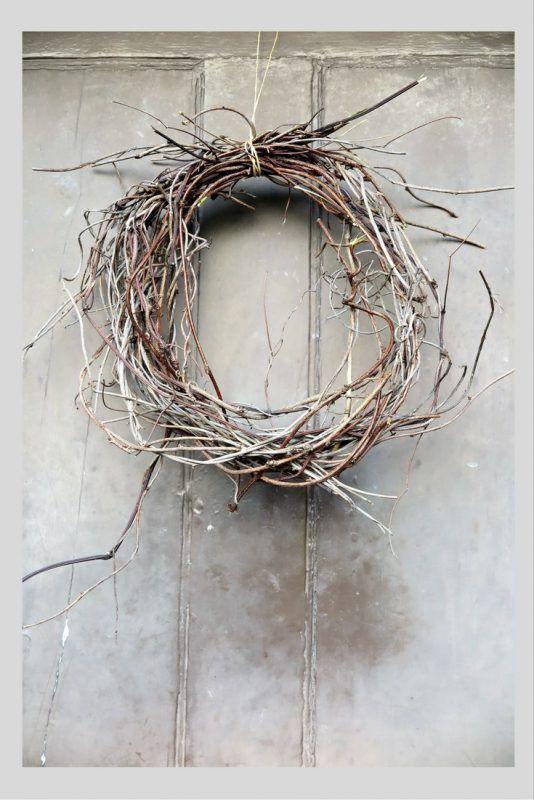Photo of Minimal Christmas wreath ideas