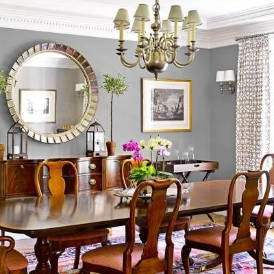 A Light Filled And Detail Rich Colonial Remodel Gray Wall