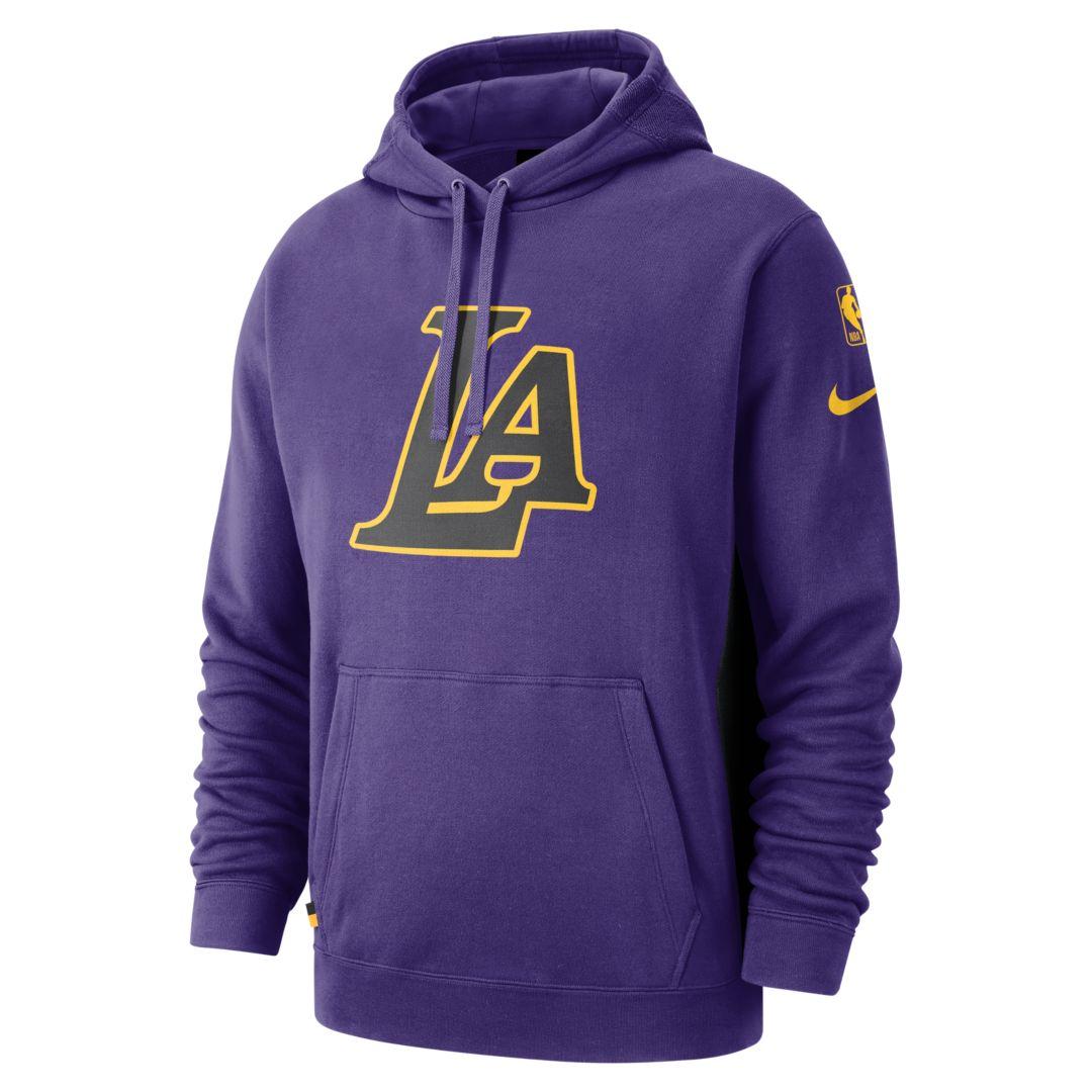 44e97a280 Los Angeles Lakers Nike Men's NBA Hoodie   Products   Nike men ...