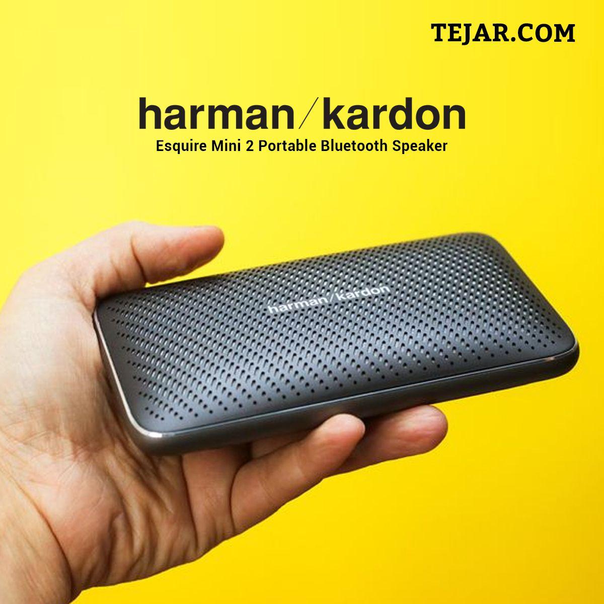 Harman kardon esquire mini 2 portable bluetooth speaker in