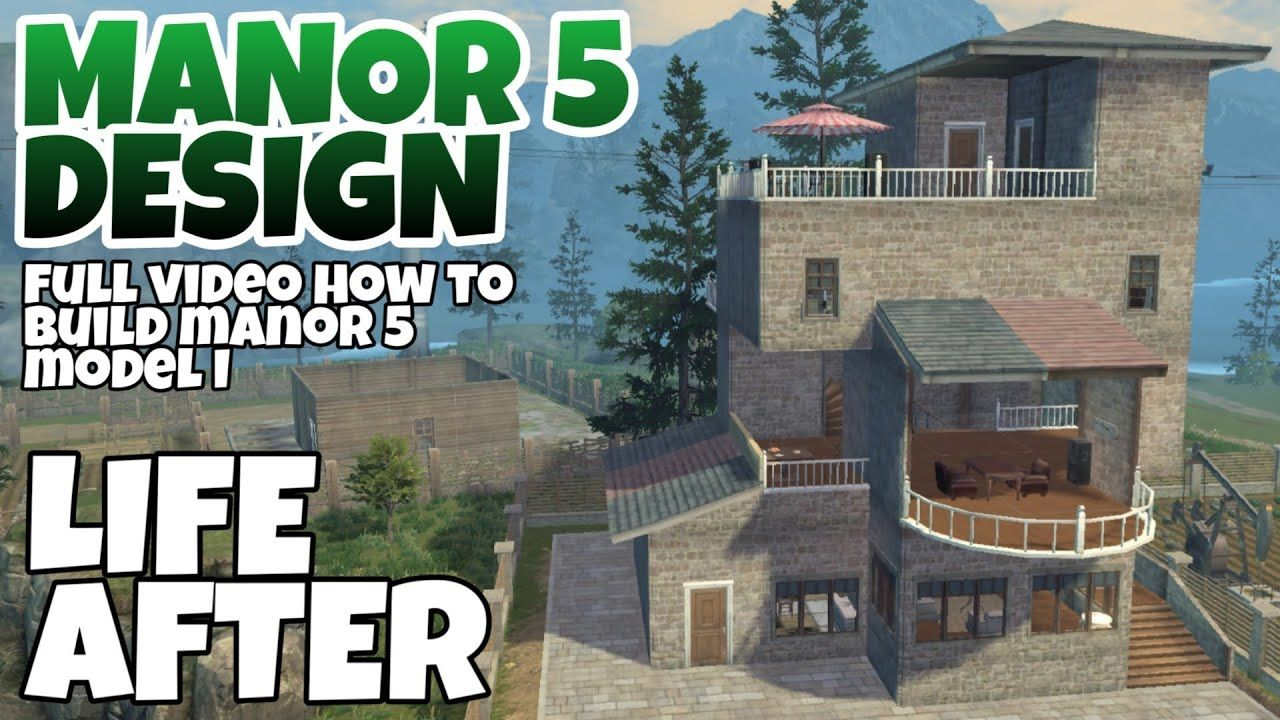Lifeafter House Design Manor 5 In 2020 With Images Design