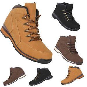 10454d043 a para hombre casual de caminar senderismo desierto trabajo botas  acordonadas al tobillo zapatos tenis basica