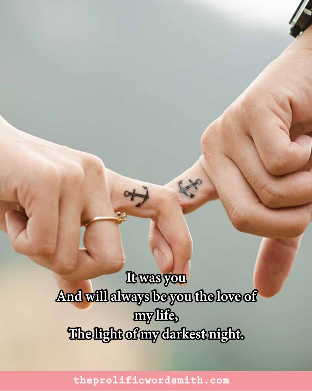 most romantic love quotes for her for instagram and facebook