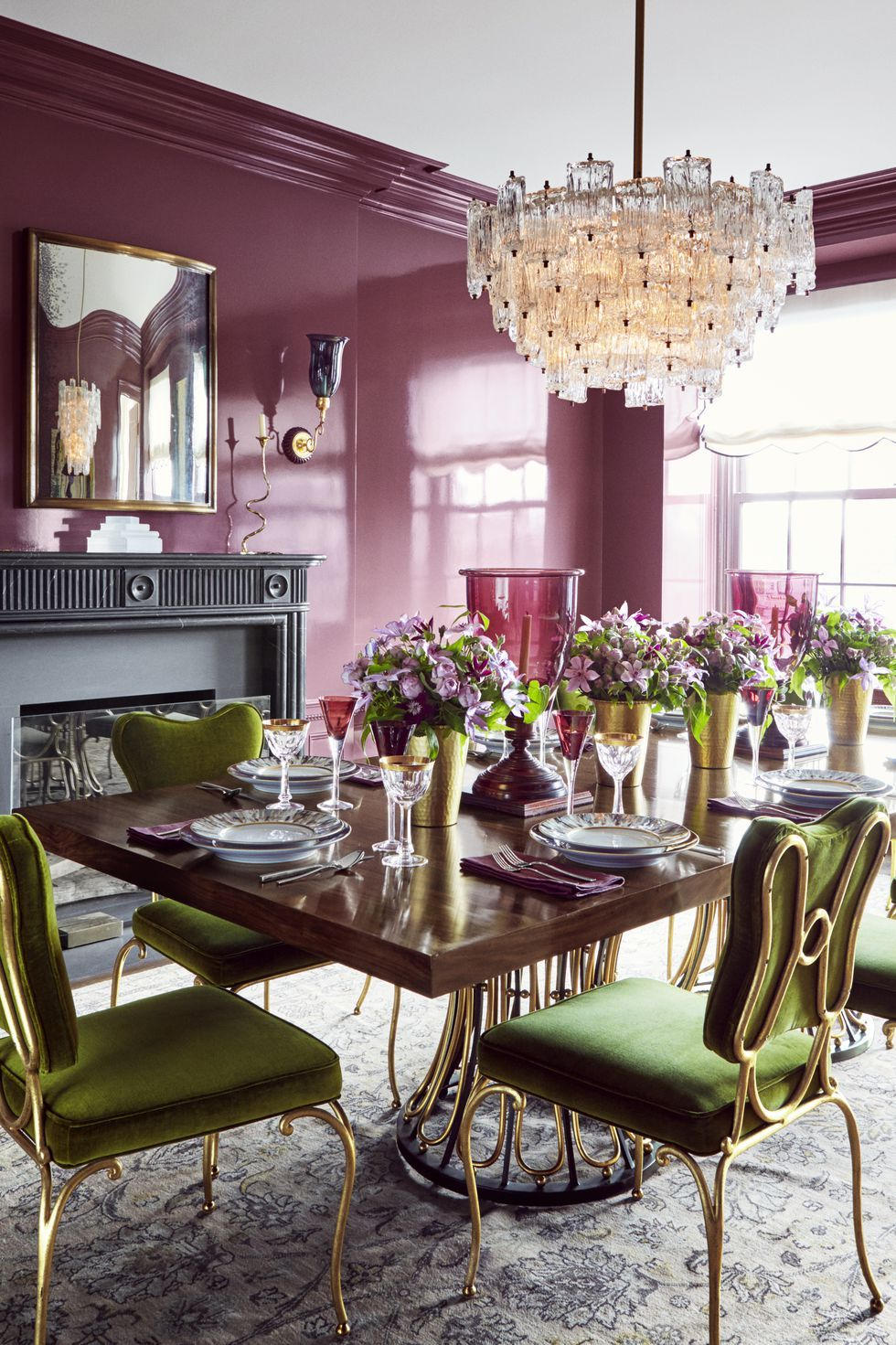 10 purple paint colors to inspire you to decorate without on 80 Decorate Your Dining Room id=79746