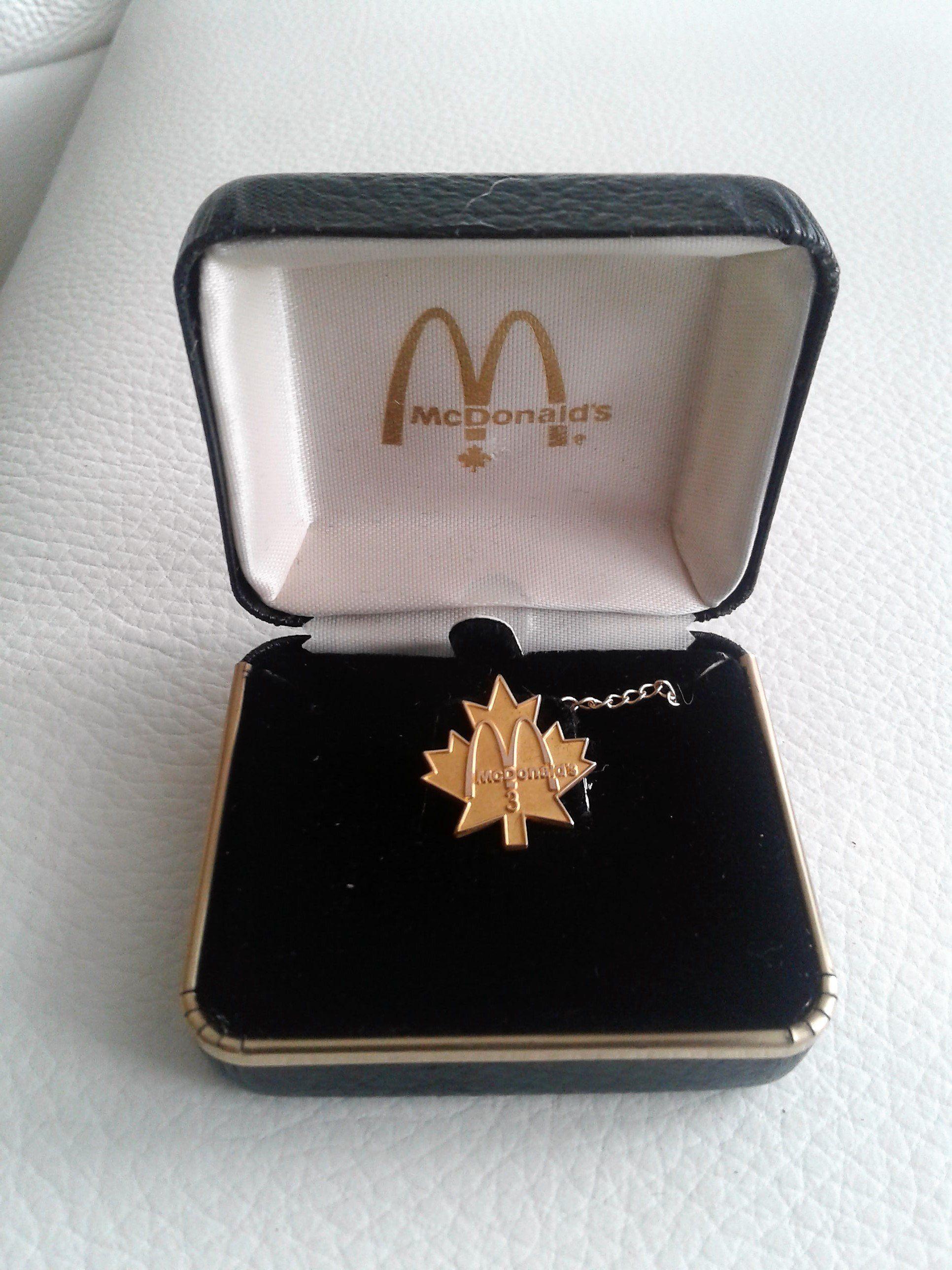 McDonald/'s Golden Potato Chips Pin Ornament Souvenir Gift