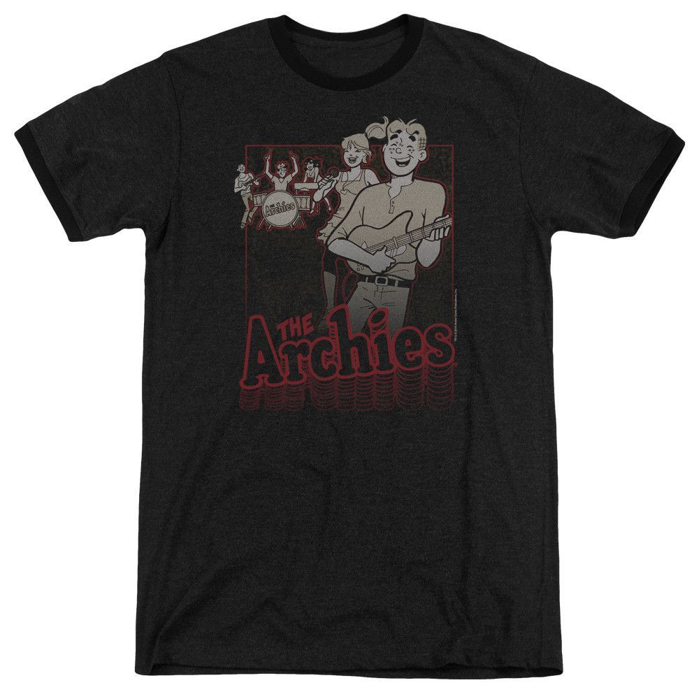 Archie Comics - Perform Adult Ringer T- Shirt