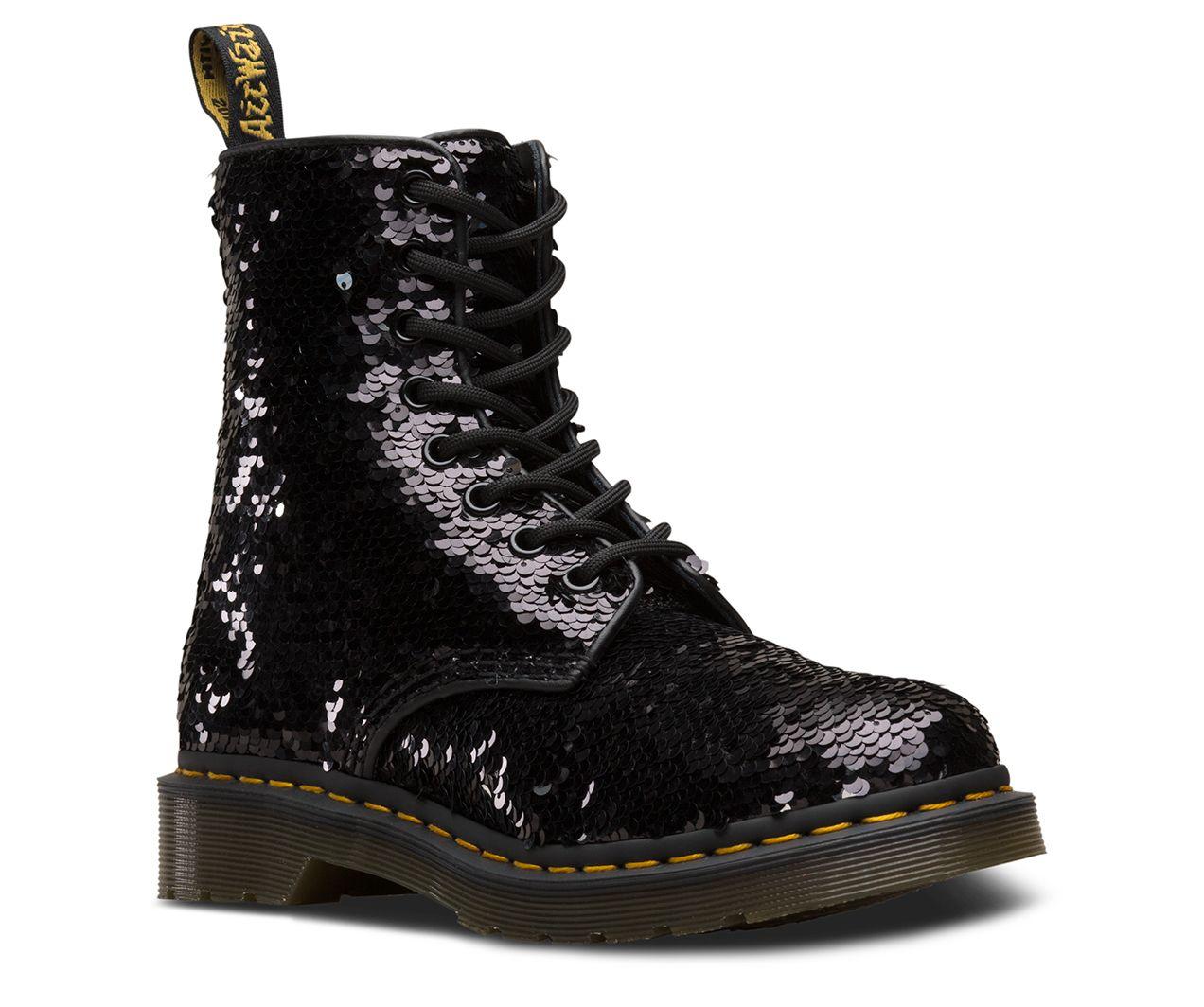 Dr martens 1460 pascal sequin   Doc martens boots, Boots, Dr