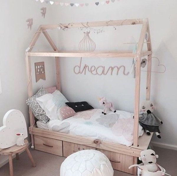 Kids Bedroom House 15 diy creative house bed for kids room | home design and interior