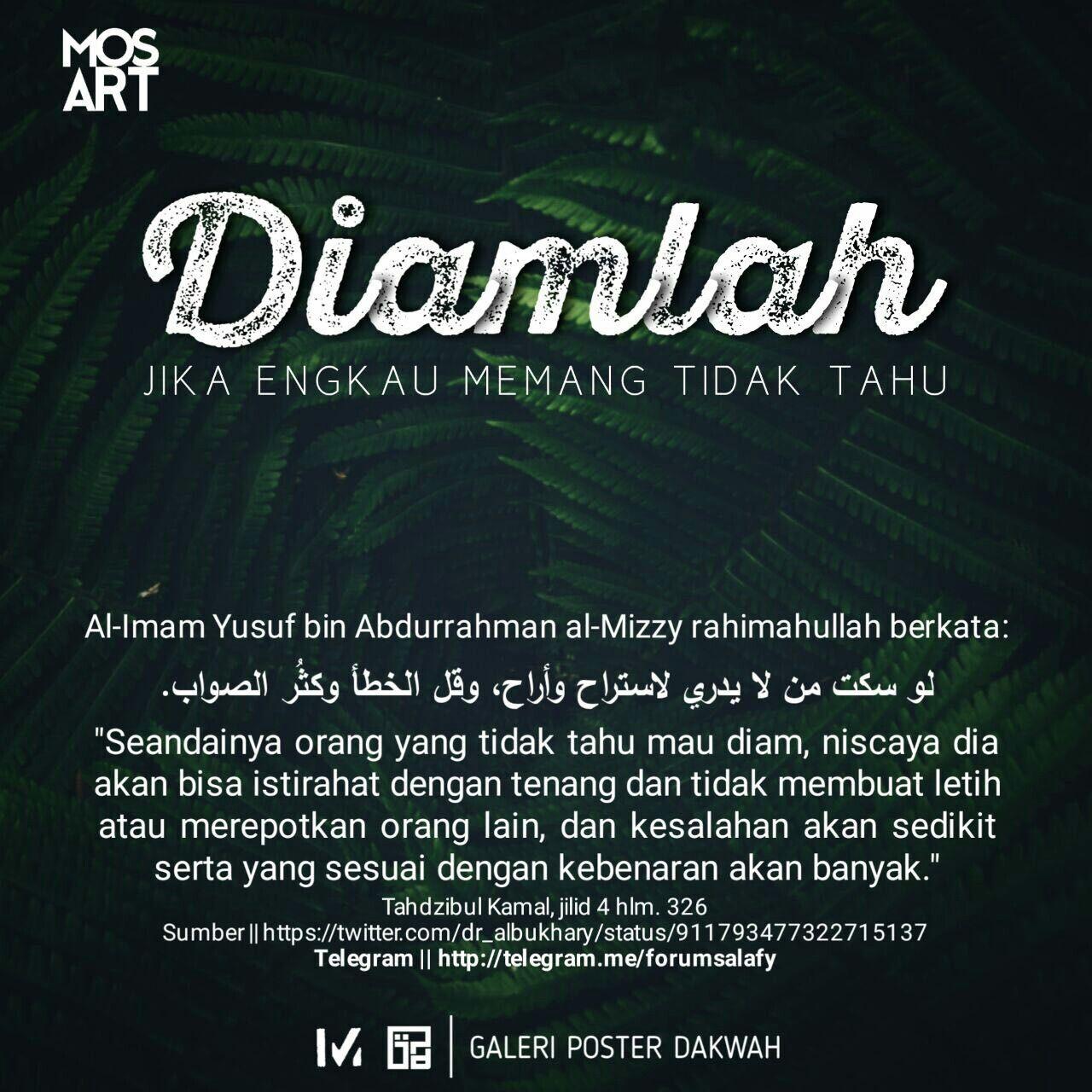 Pin oleh Salsabila Ummu Fawwaz di Galeri Poster Dakwah ...