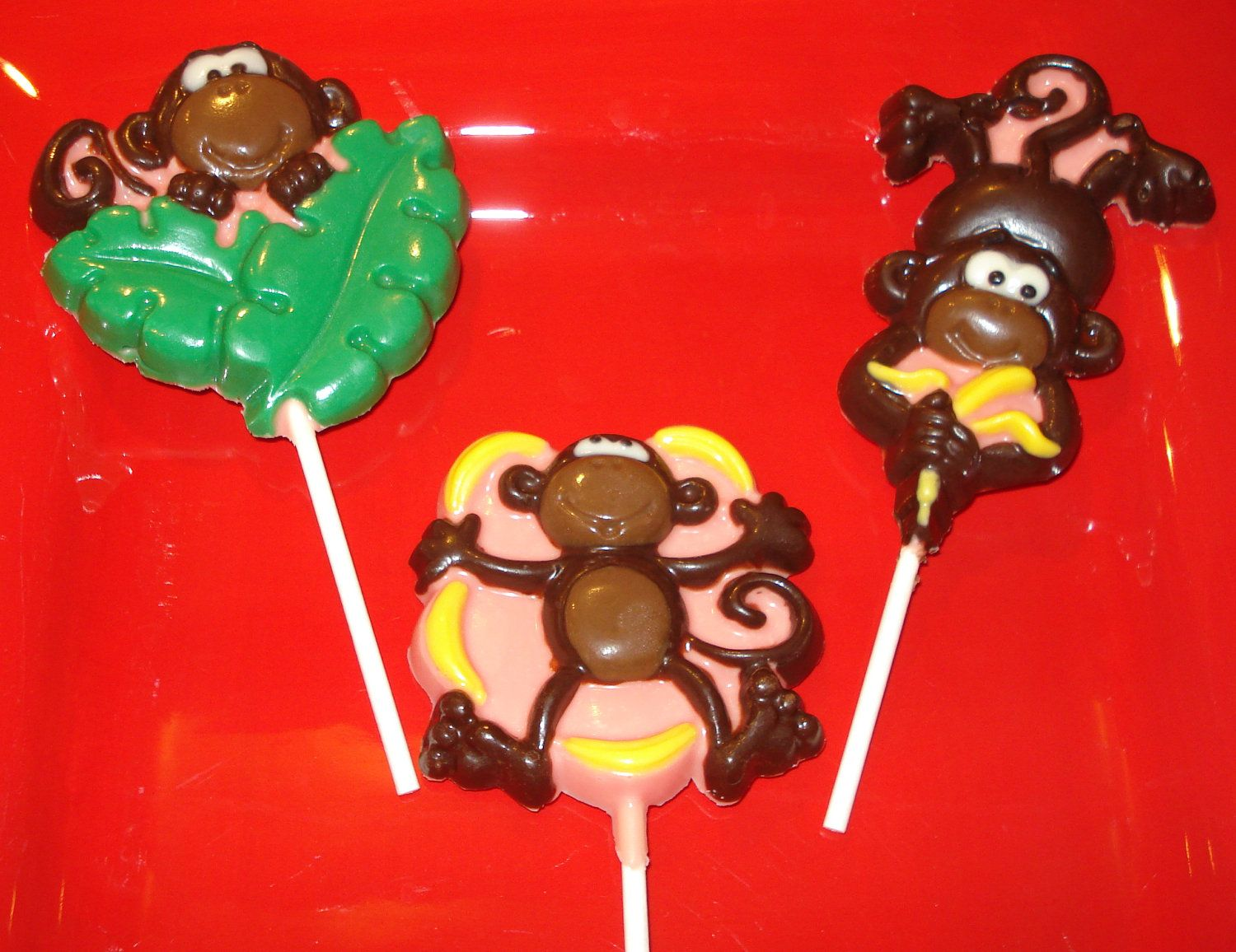 Chocolate Monkey Lollipops | Baby | Pinterest | Chocolate ...