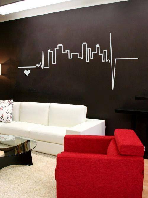 Pin de j ssica ochioni en decora o casa pinterest for Murales decorativos para interiores